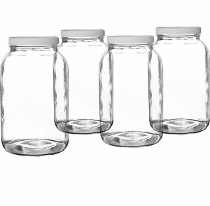 1-Gallon-Wide-Mouth-Glass-Jar-with-PlasticLid-Made-In-The-USA-BPA-FREE