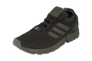 b0b2816bc0535 Image is loading Adidas-Originals-Zx-Flux-Pk-Mens-Running-Trainers-