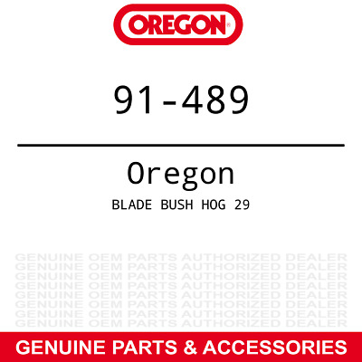 3pk Oregon Xtended Mulching Blade Bush Hog RDTH 84 HDTH7 Finish Mowers 50033779