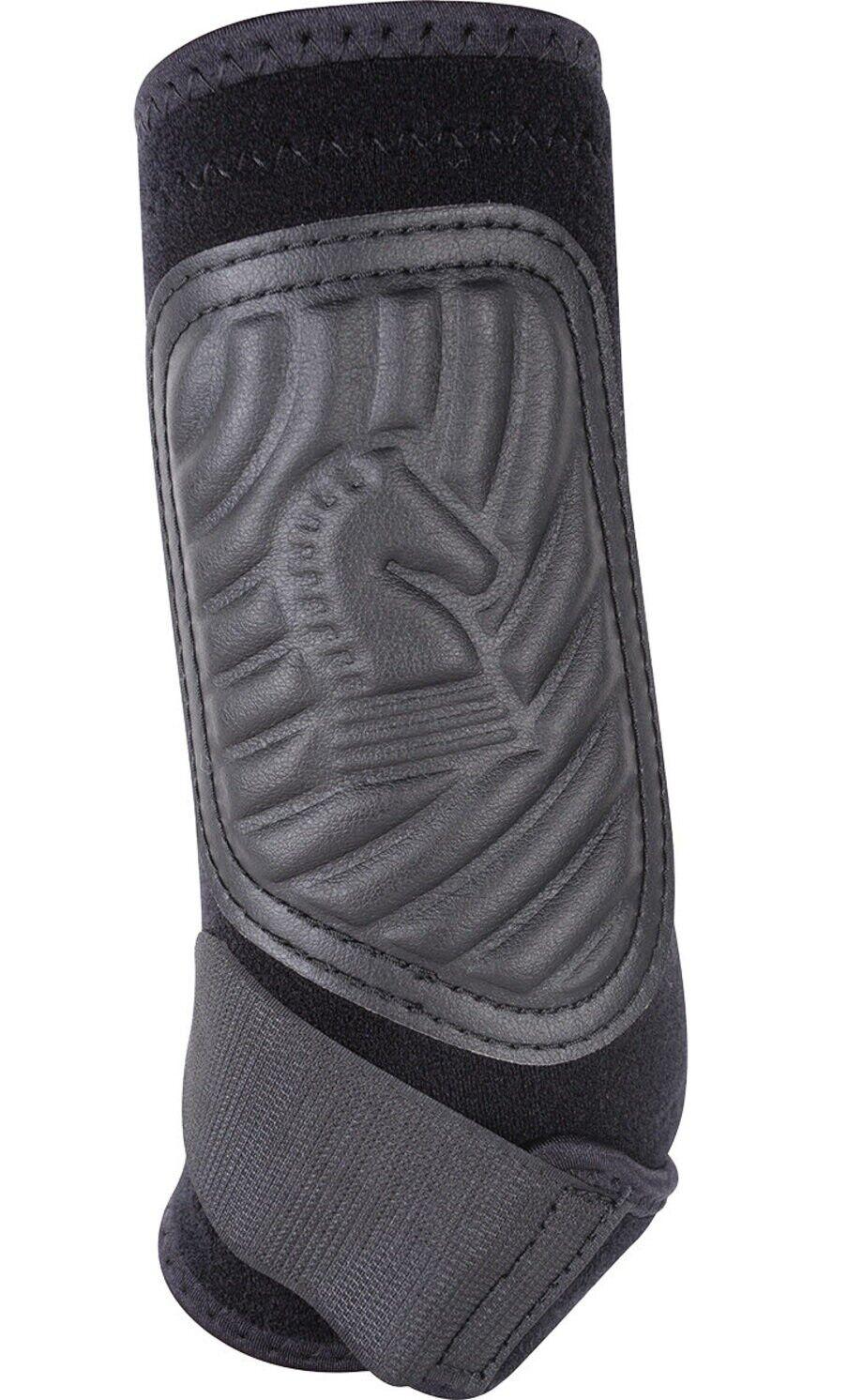 Classicfit Schuhe Hind für Pferde Schwarz Beinschutz Unterstützung Mittlere