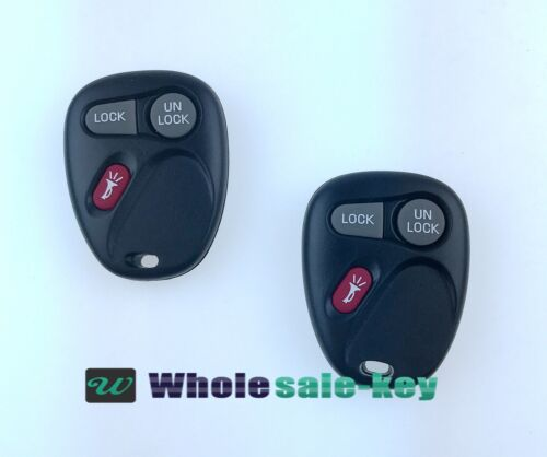 2 Replacement Keyless Entry Remote Key Fob For 2001-2004 Chevrolet S10 15042968