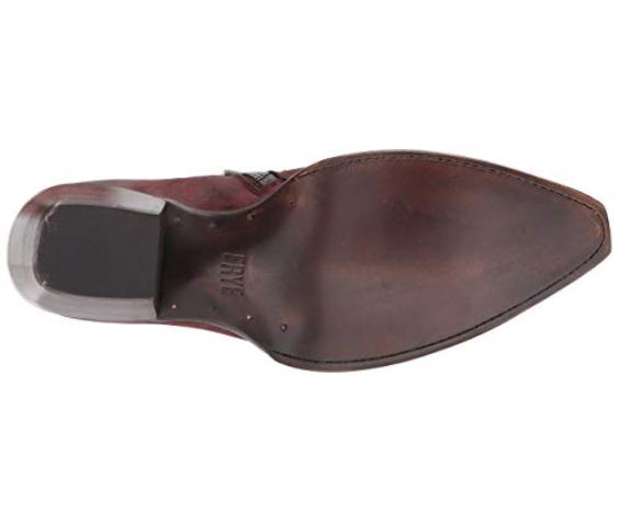 New damen FRYE Sacha Sacha Sacha Moto Shootie Größe 7 Burnt rot Ankle Stiefel Retail  278 85ae39