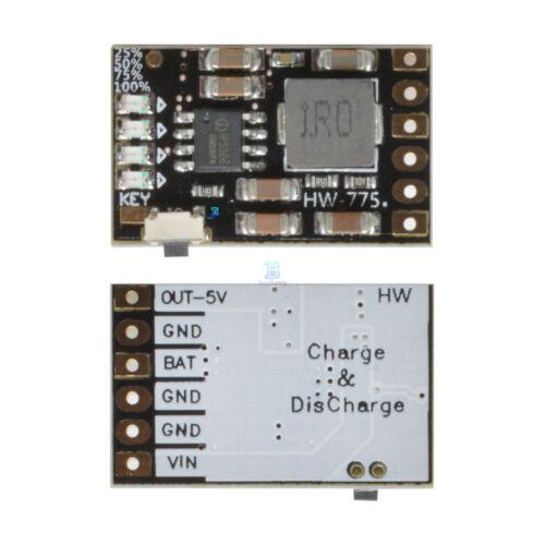 DC 5V 2A Charge Discharge Module Li-ion Battery 3.7V 4.2V Charge Boost Board