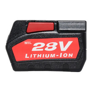 2PCS-28V-3-0Amp-Hr-Batteries-for-Milwaukee-Cordless-Drill-Power-Tool-48-11-1830