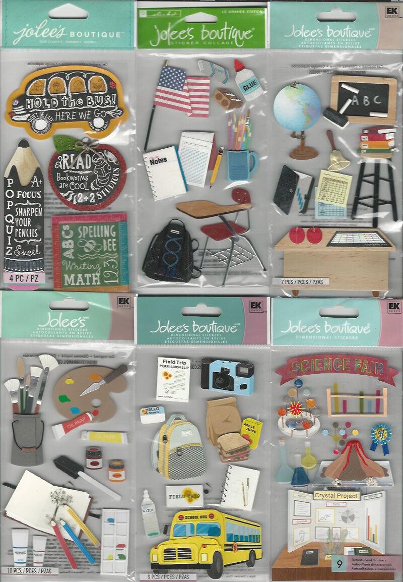 JOLEE/'s Scrapbooking-Sticker ~ MUSEUM ~ AUSSTELLUNG ~ MUSEUMSBESUCH