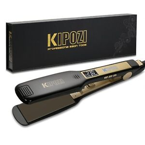 Iron-hair-Professional-KIPOZI-Plates-Wide-Screen-LCD-Voltage-Dual-NEW