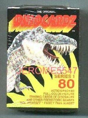 Dinamation Dinosaurs Dino Cards Factory Card Set Star Pics 1992