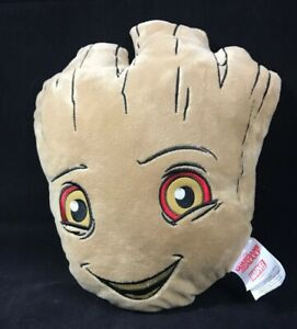 Marvel-Guardians-of-the-Galaxy-Happy-Groot-Face-only-3D-Pillow-13-034-EUC-Clean-HTF