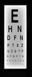 Image Is Loading Eye Test Chart Wall Light Box Mounted Medical