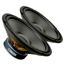 """Pair GRS 10PR-8 10"""" Poly Cone Rubber Surround Woofer 8ohm 115 W 85dB"""