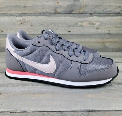 Guardia Porcentaje terciopelo  Nike Women's Genicco 644451 004 Athletic Old School Sneakers Cortez Gray/  Rose | eBay