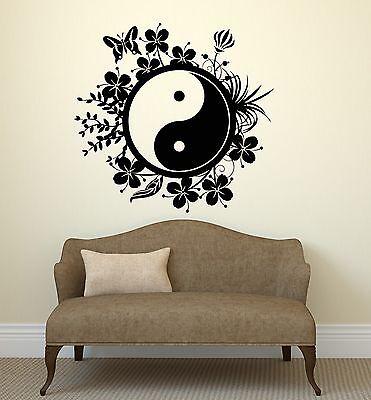 YIN YANG Vinyl Decal Sticker Chinese Philosophy Taoism Yin and Yang