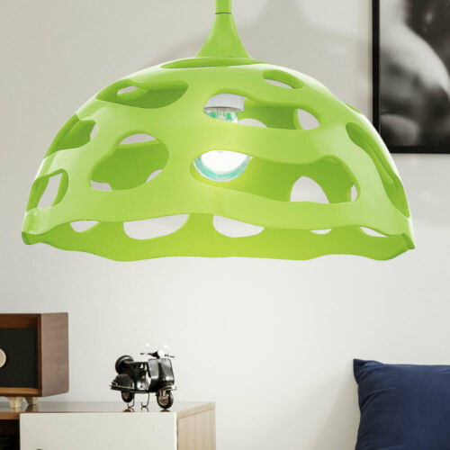 Hochwertige Wohn Ess Zimmer Decken Beleuchtung Pendel Lampe Lounge Flur Grün E27
