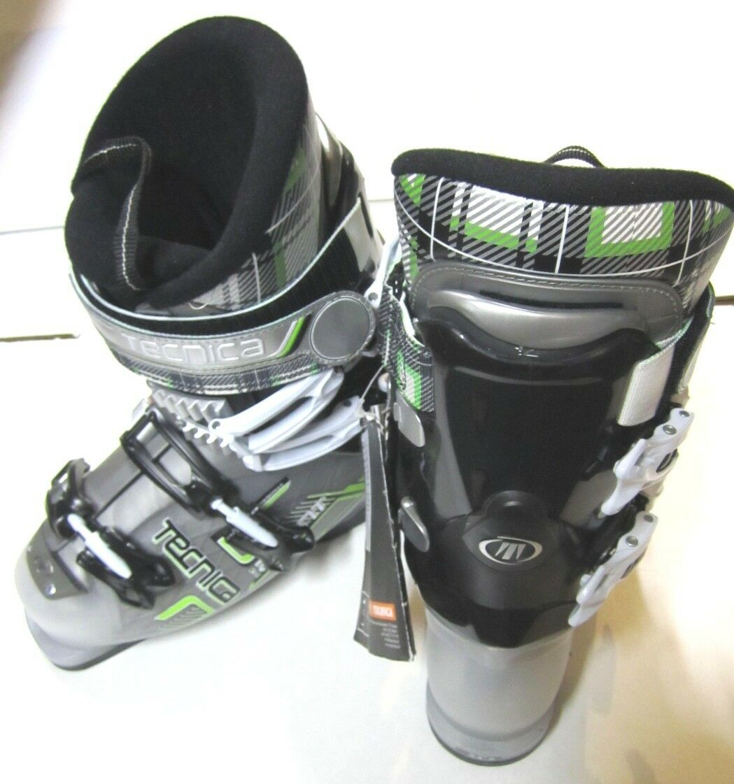TECNICA THE AGENT 80 FREESTYLE PARK WITH & PIPE SKI Stiefel 24.5 - NEW WITH PARK TAGS c228b9