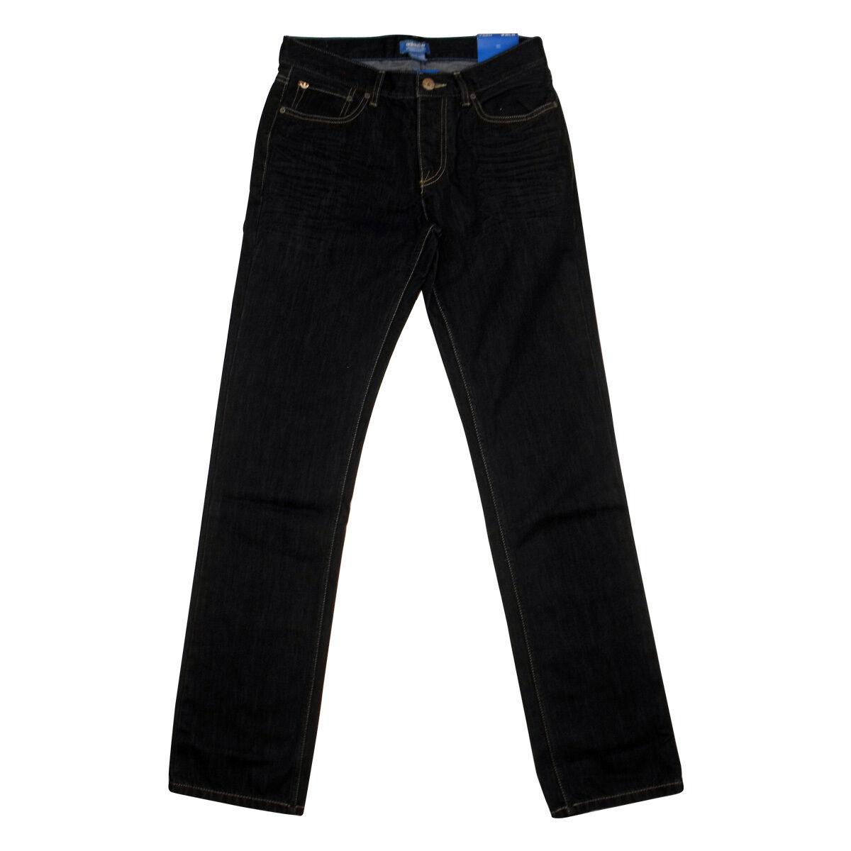 Férfi Adidas Originals M Slim Fit farmer kék kollekció Sötét farmer Jean W29-W30