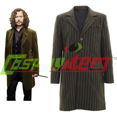 Potter Sirius Black Movie Costume Jacket only custom made cos