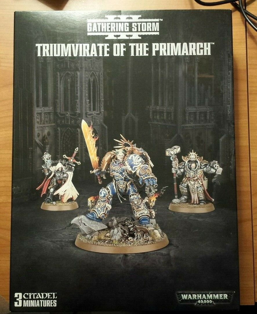 Triumvirate of the Primarch warhammer space marines guilliman cypher voldus