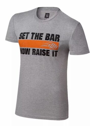 New JOHN CENA Training Set Bar Now Raise T Shirt Mens Small Wres