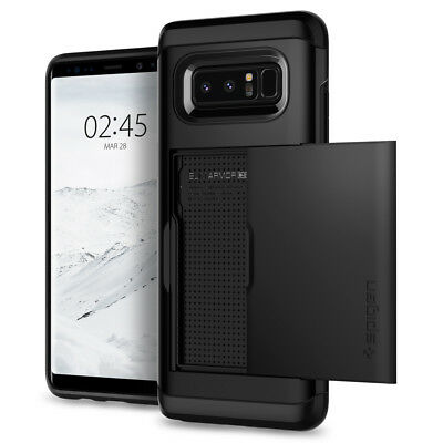 Spigen® Samsung Galaxy Note 8 [Slim Armor CS] Card Holder Case Shockproof Cover