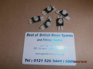 Rover-75-MG-ZT-Chrome-painted-over-Door-roof-strip-clips-New-Genuine-DBE100180