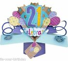 Pop Up Tarjeta 60 Feliz Cumpleaños Y de felicitación ## 03