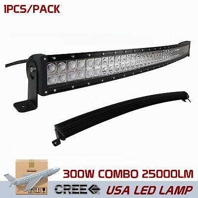 14inch 72W LED Work Light Bar Combo Off-Road Driving SUV JEEP Truck Lamp Screws