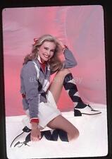 352N PRISCILLA BARNES 1981 Harry Langdon 35mm Transparency w/rights