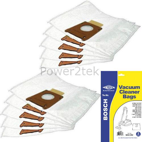 10 x G GXL Vacuum Bags for Bosch JUNIOR C600 LOGO MAXIMO Hoover UK