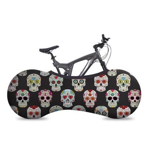 VELOSOCK Skulls Dia de Muerto Fahrradgarage Fahrradschutzhülle Fahrradabdeckung