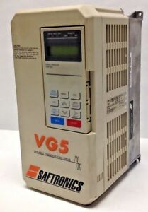 Saftronics-Inc-CIMR-G5U44P0-Variable-Frequency-AC-Drive-44P01C-3-Phase-USED
