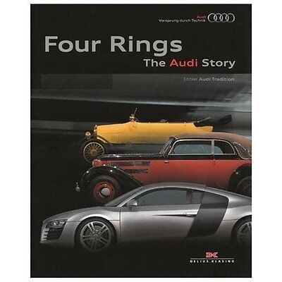 Four Rings : The Audi Story by Audi (2013, Hardcover)