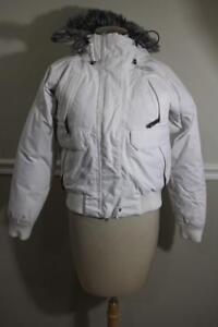 Jacket Face Women's Størrelse The S North co300 avk0 Puffer White p1wnAxZXvq