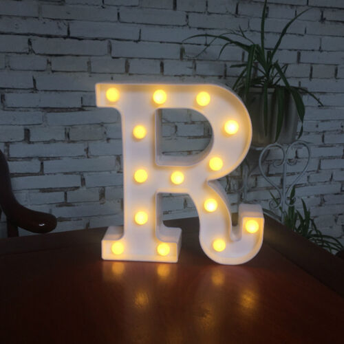 Vintage Large LED Marquee Letter Alphabet Symbol Lights Sign XMAS Wedding Party
