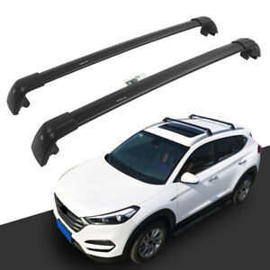 US Stock Sliver Roof Rail Rack Bar for Mitsubishi Outlander 2013-2018 Cross Bar
