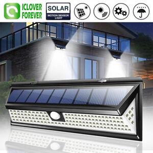 118-LED-Solar-Lamp-Outdoor-Garden-Yard-Waterproof-PIR-Motion-Sensor-Wall-Light