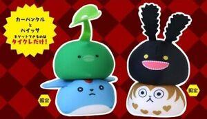 FINAL-FANTASY-XIV-FFXIV-Bean-Bags-Mascot-Plush-Toy-Set-of-4-TAITO-FF-14-Unused