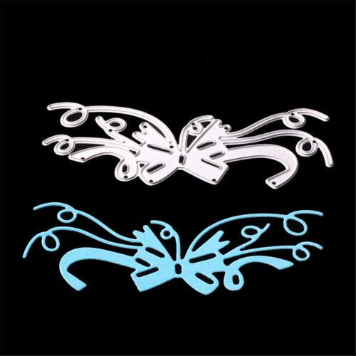 Bow Knot Tie Metal Cut Dies DIY Scrapbooking Embossing stencils craft DIY Decor/'