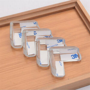 Image Is Loading 10pcs Clear Table Desk Corner Protector Edge Guard