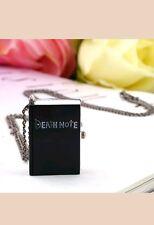 NUOVO Death Note Book Quarzo Orologio da Tasca Collana fr21