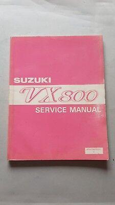 Analitico Suzuki Vx 800 1990 Manuale Officina Originale Workshop Manual