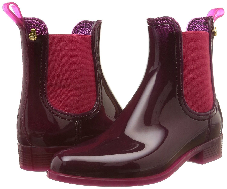 Lemon Jelly Pisa Chelsea Boots in Cherry Size 40