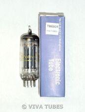 NOS NIB Westinghouse USA 8FQ7/8CG7 Gray Plate Bridged Filaments Vacuum Tube
