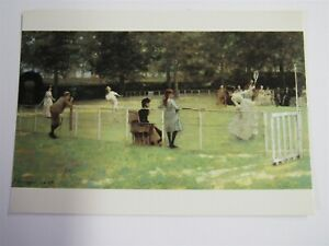 Medici Postcard By Sir John Lavery The Tennis Party PC1951