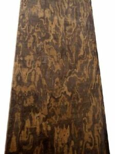 5,5 mm bois Olivenholz Poignée Brett Tonholz Sägefurnier 87//97cm 3x
