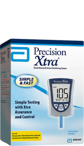 Precision-Xtra-Blood-Glucose-and-Ketone-Monitoring-System-Meter-NEW