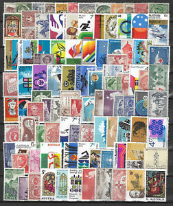 AUSTRALIA-Collection-Packet-of-100-Different-AUSTRALIAN-Stamps-MINT-Never-Hinged