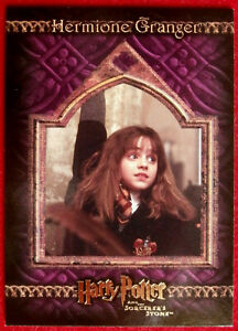 HARRY-POTTER-SORCERER-039-S-STONE-Card-004-EMMA-WATSON-as-HERMIONE-GRANGER