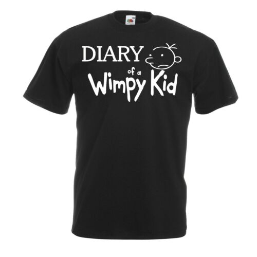 Wimpy Kids World Book Day Support Diary T-shirt outfit Kids funny gift Tops.