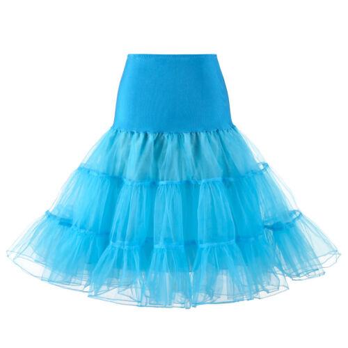 """Retro Underskirt//50s Swing Vintage 26/"""" Petticoat//Rockabilly Tutu//Fancy Net Skirt"""