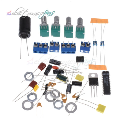 Details about  /LM1036N Fieber Volumen Control Board Kit Für 12V DC//AC Power Supply DIY ASS